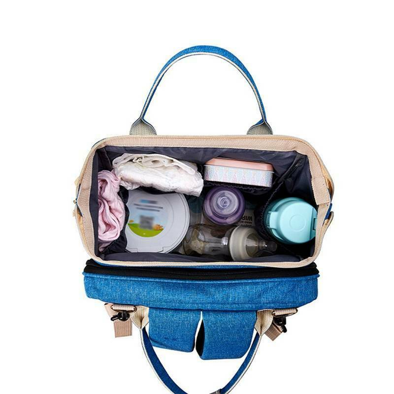 2 Folding Baby Portable Nappy Bag great