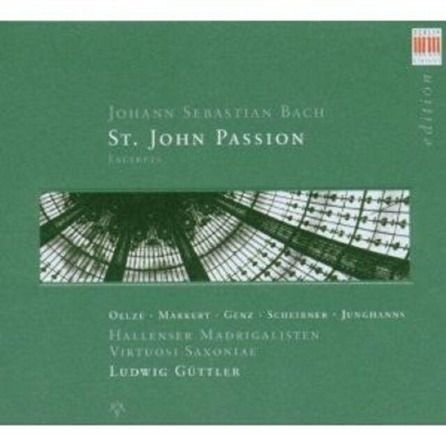"""LUDWIG GÜTTLER """"JOHANNESPASSION""""  CD NEU"""