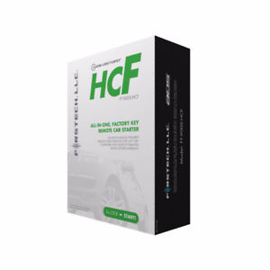 FT-900S-HCF ALL-in-1 REMOTE STARTER W/INTEGRATED Bypass Module