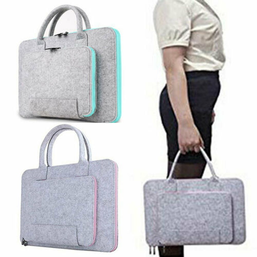 Filz Laptop Tasche Schutzhülle Case Notebooktasche Cover Handtasche 17