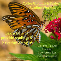 Coffee Grounds and Tealeaf Reading Workshop