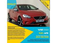 2017 67 VOLVO V40 R-DESIGN T2 HATCH LEATHER HEATED SEATS 1 OWNER SERVICE HISTORY
