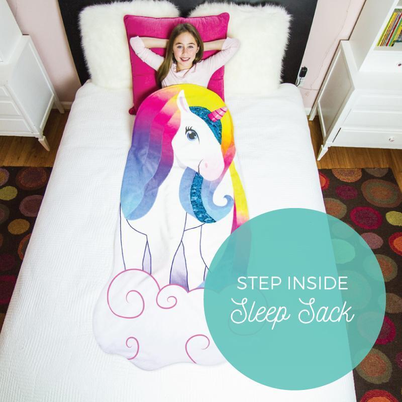 Luvsy Unicorn Flip Blanket Sleep Sack - 2 in 1