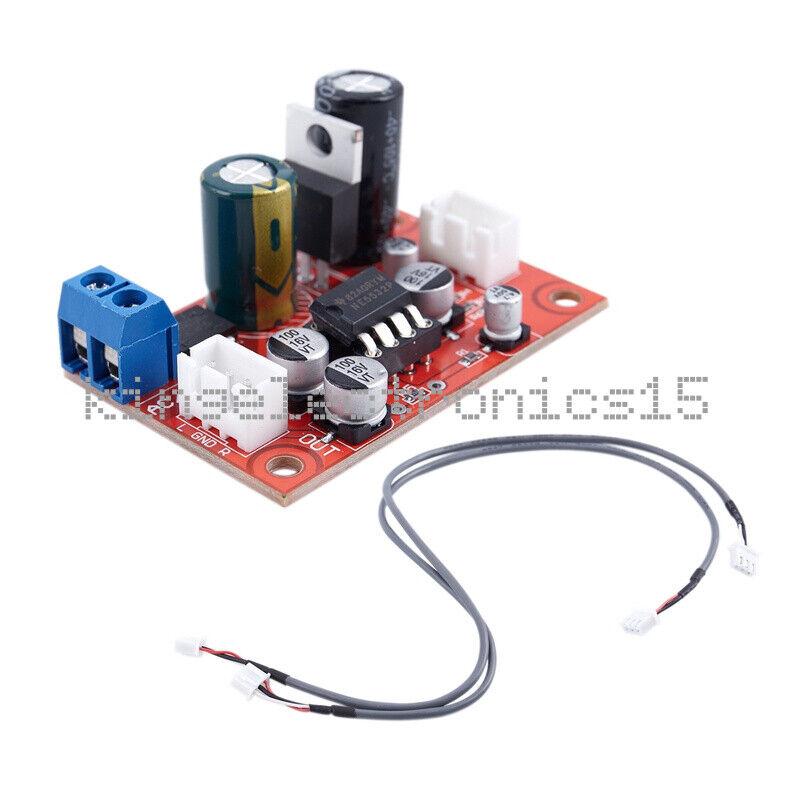 DC9-24V AC8-16V NE5532 Dynamic Microphone Stereo Preamp Amplifier Board DIY