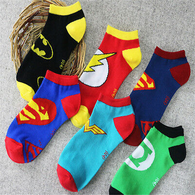 Hot Anime Superman Batman Flash Green Lantern Short Women Ostern Party Cosplay
