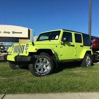 2016 JEEP WRANGLER SAHARA IN HYPERGREEN AT 0% 72M.16W44234 Edmonton Edmonton Area Preview