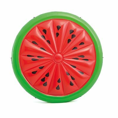 Intex Giant Inflatable 72 Inch Watermelon Island Summer Swimming Pool Float Raft