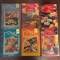 Company's coming and Cambells cookbooks