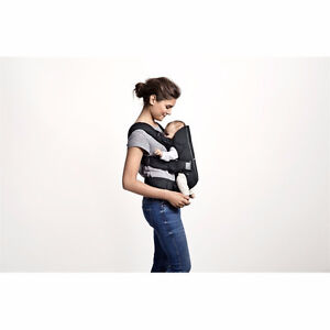 Baby Bjorn Baby Carrier One Air (Black) w/ Cover & Bib Extras