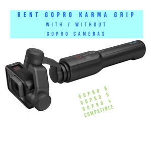 GoPro Karma Grip Stabilizer Gimbal for Rent - Go Pro
