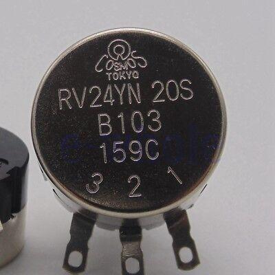 Rv24yn 20s Potentiometer 24mm 10k B10k B103 Single-turn High Precision Tw