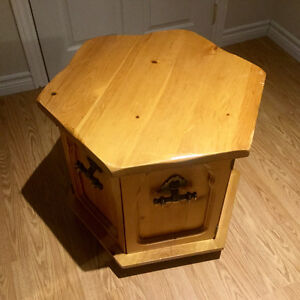 End Table - Solid Pine