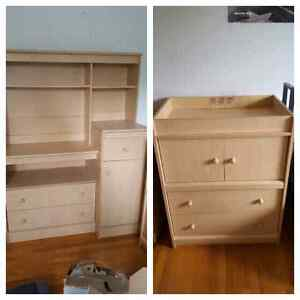 URGENT!! nursery furniture 40$ each or 70$ for both