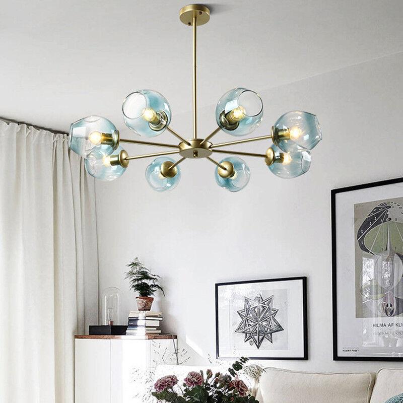 the best attitude 06a3b 07c80 Details about Kitchen Pendant Light Glass Lamp Large Chandelier Lighting  Gold Ceiling Lights