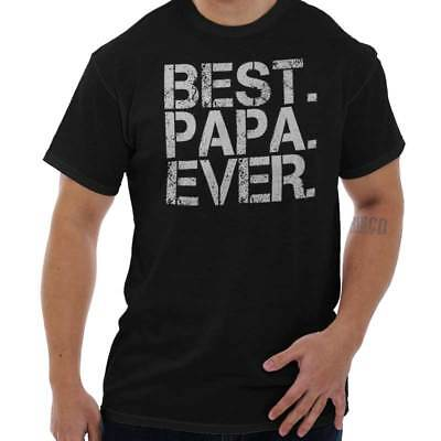 Best Papa Ever Cute Shirt World Greatest Father Day Gift Dad T Shirt