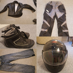 Men's motor cycle gear