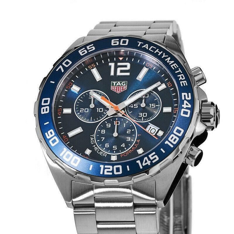Tag Heuer Men's CAZ1014.BA0842 'Formula One' Chronograph Stainless Steel Watch - watch picture 1