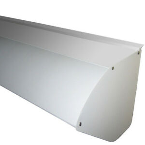 Aluminum COVER for retractable canopy awning