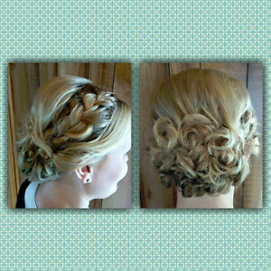 Travelling Hairstylist for bridal parties! London Ontario image 7