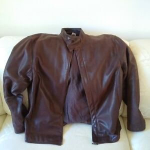 ZEGNA Leather Jacket / Jacket cuire MADE IN ITALY