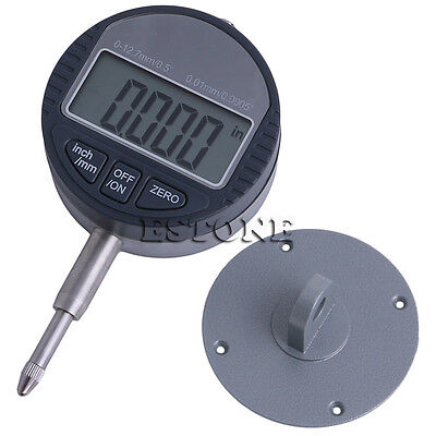 0.01mm0.0005 Range 0-12.7mm0.5 Gauge Digital Dial Indicator Precision Tool