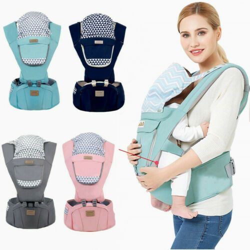Baby Infant Carrier Breathable Ergonomic Wrap Sling Backpack Front&Back Hip Seat Baby