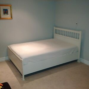 Double/Full Ikea Bed with Mattress