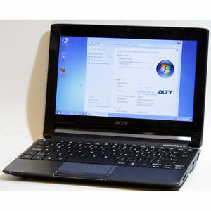 "Acer Aspire 533 Netbook 1GB RAM 60GB WiFi Webcam 10.1"" Windows 7"