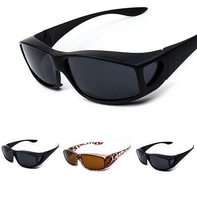 Polarized Fit Over Prescription Sunglasses Sport Driving Rectangular Eye (Prescription Polarised Sunglasses)