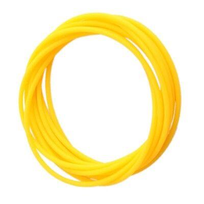 (12x Gummies Shag Bands Bracelets fancy Gummy Wristbands Jelly Yellow bangles)