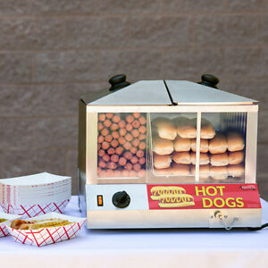 Hot Dog Steamer 100pcs & Bun warmer 48pcs - 120V, 1300W Kitchener / Waterloo Kitchener Area image 1