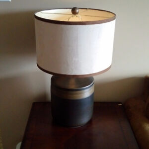 Table Lamps (x2)
