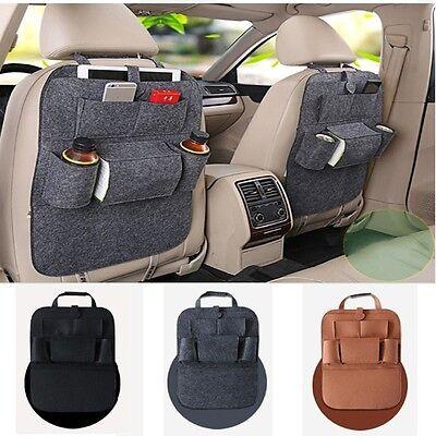 NEW Car Seat Back Bag Auto Book Organizer Multi-Pocket Storage Pouch Holder Box