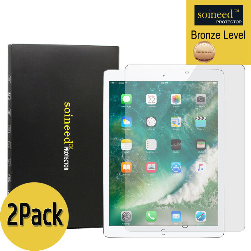 SOINEED Tempered Glass Screen Protector For Apple iPad 2,3,4 3-Pack 9.7