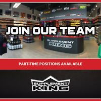 Supplement king Customer service rep