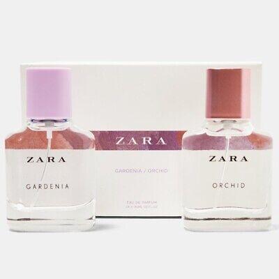 ZARA GARDENIA + ORCHID Set for WOMEN * 2 x 1.0oz (30ml) EDP Spray NEW & SEALED