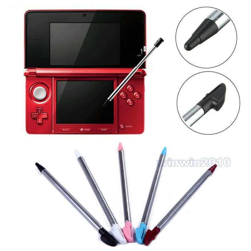 4pcs Metal Stylus Touch Screen Pen Hot For Nintendo 3DS 3DS XL/LL Retractable