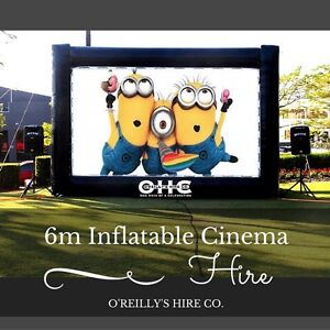 6 Metre Inflatable Outdoor Cinema Hire Perth - O'Reilly's Hire Co. Kelmscott Armadale Area Preview