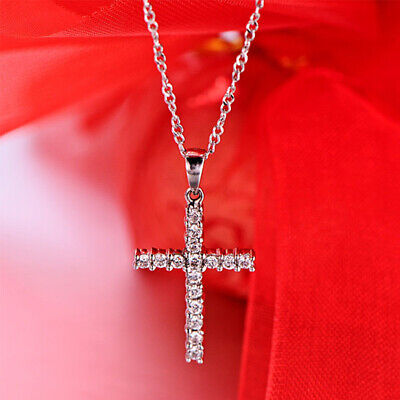 Stainless Steel Men Cross Necklace Chain Fashion Jewelry Hot Gift Pendant Unisex