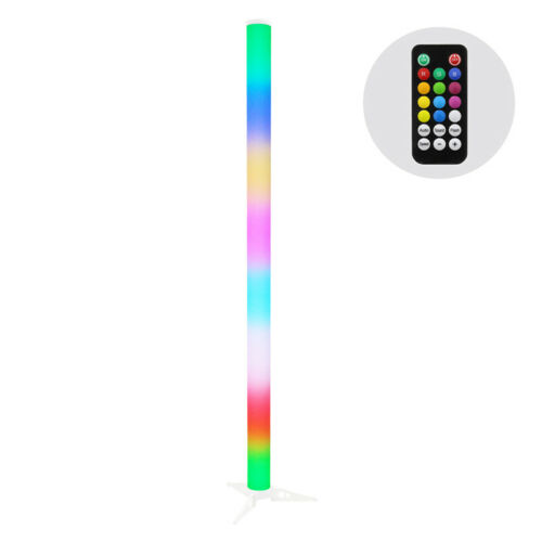 JMAZ Galaxy Tube Rechargeable LED SMD 5050 LEDs (RGB) w/ IR Remote
