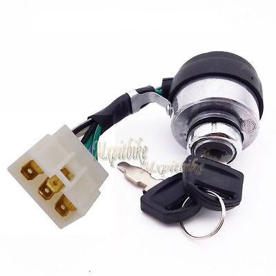 6 Wire Start On Off Ignition Key Switch For Chinese Portable