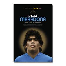 Diego Maradona 2019 Doc Movie Soccer Art Silk Canvas Film ...