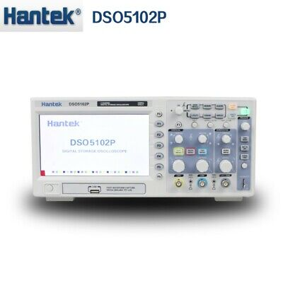 Hantek Dso5102p Usb Digital Storage Oscilloscope 2channels 100mhz 1gsas Lcd