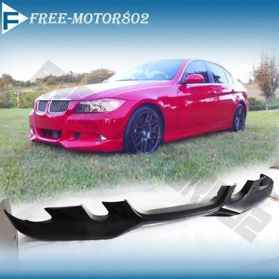Bmw Front Spoiler (FOR 06-08 BMW E90 325 328 330 335 SEDAN PU A FRONT BUMPER LIP SPOILER BODYKIT )