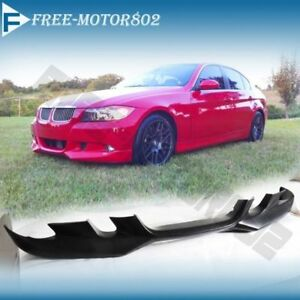 FOR 06-08 BMW E90 325 328 330 335 SEDAN PU A FRONT BUMPER LIP SPOILER BODYKIT