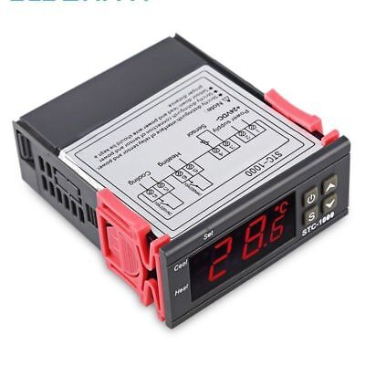 12v 24v 110v 220v Digital Temperature Controller Thermostat Aquarium Sensor S546
