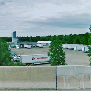 SEMI TRUCK & TRAILER PARKING WITH WINTER PLUGS