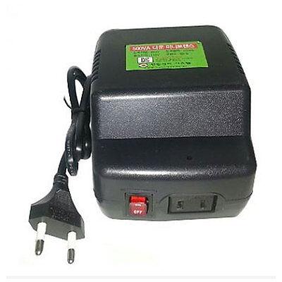 220V-->110V Down-step transformer Voltage ConverterMax Power 500VA/500W380wbelow
