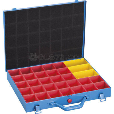 Metal Tool Box Case Organizer For Hardware Small Metal Parts Fervi 04232