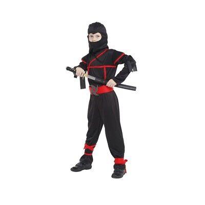 Martial Arts Costumes Ninja for Children Day Halloween Fancy Evening Accessories